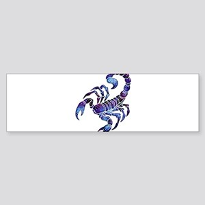 Celestial Rainbow Scorpion Bumper Sticker