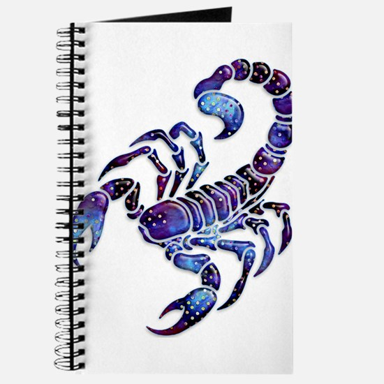 Celestial Rainbow Scorpion Journal