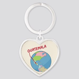 00-ornR-guatemalaglobe Keychains