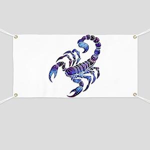 Celestial Rainbow Scorpion Banner