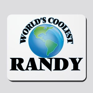 World's Coolest Randy Mousepad