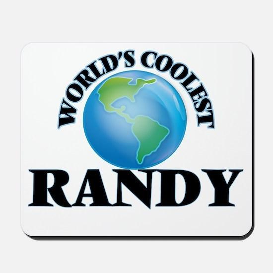 World's Coolest Randy Mousepad