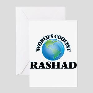 World's Coolest Rashad Greeting Cards