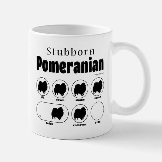 Stubborn Pom v2 Mug