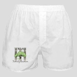 WALSH family reunion (tree) Boxer Shorts