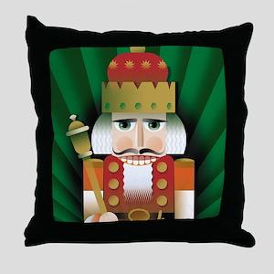 Nutcracker Throw Pillow