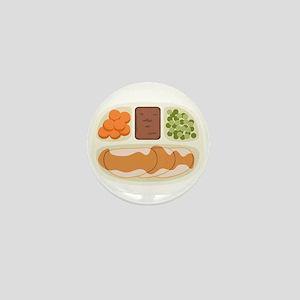 TV. Dinner Microwave Tray Mini Button