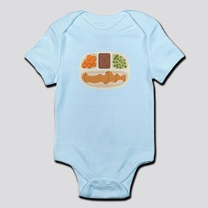 TV. Dinner Microwave Tray Body Suit