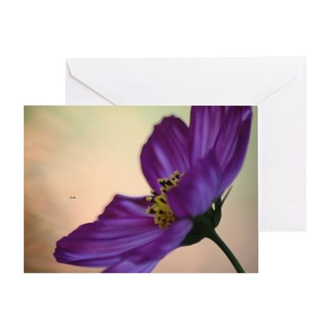 Color of The Garden Greeting Card