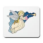 Christmas Art Angel Mousepad
