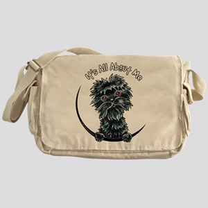 Affenpinscher IAAM Messenger Bag