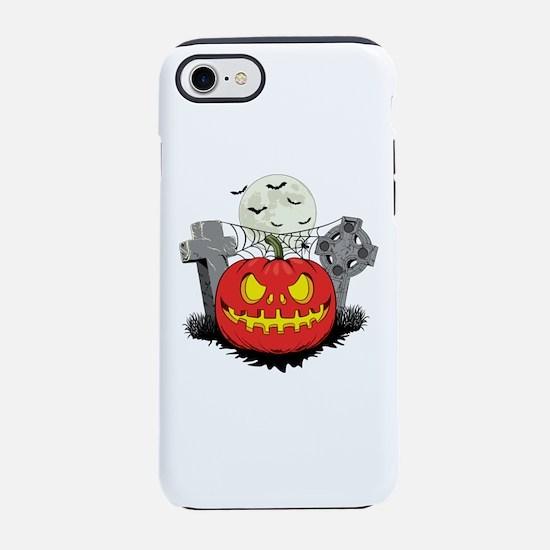 HALLOWEEN PUMPKIN iPhone 7 Tough Case