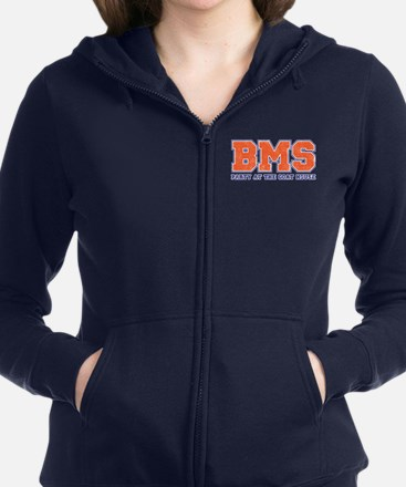Bms Party Women's Zip Hoodie