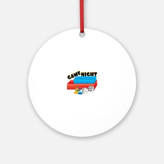 Game Night Ornament (Round)