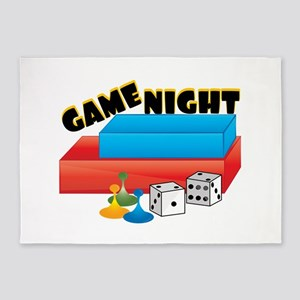 Game Night 5'x7'Area Rug