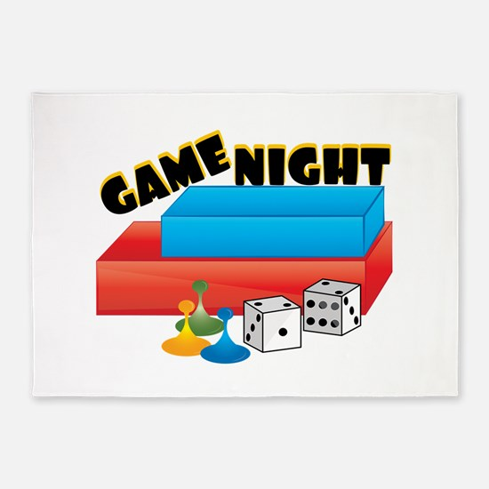 Game Night 5'x7'Area Rug