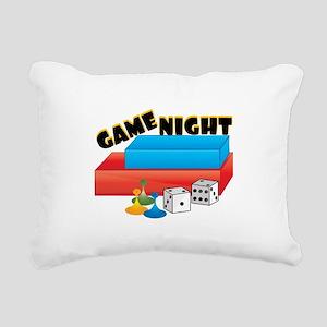 Game Night Rectangular Canvas Pillow