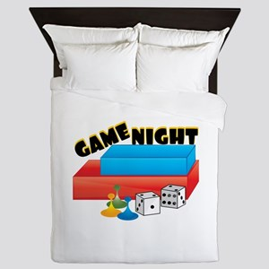 Game Night Queen Duvet