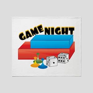 Game Night Throw Blanket
