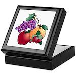 Nature Art Fruit Design Keepsake Box