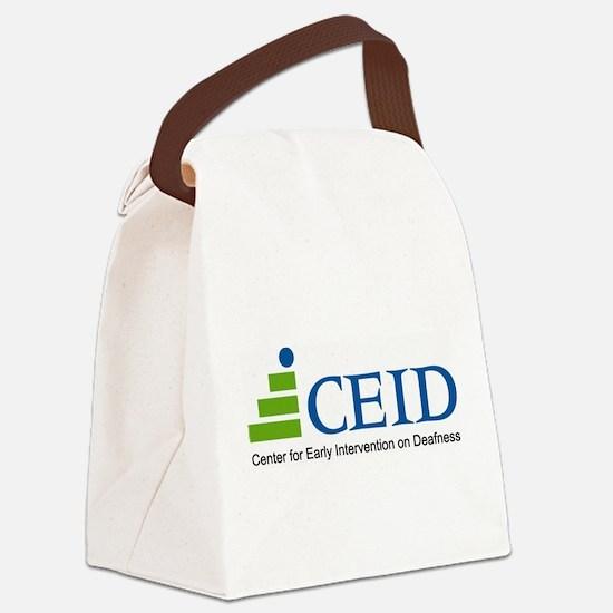 CEID Logo Canvas Lunch Bag