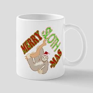 Sloth Merry Christmas Mugs
