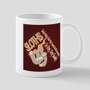Sloth World Domination Mugs