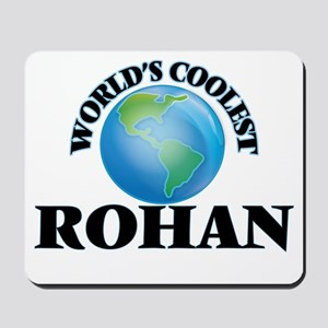 World's Coolest Rohan Mousepad