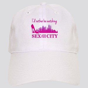 Watching Sex and The City Baseball Cap