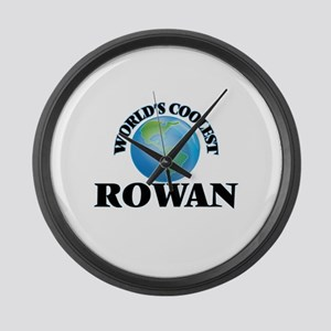 World's Coolest Rowan Large Wall Clock