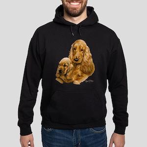 Cocker Spaniel (English) Hoodie (dark)