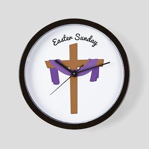 Easter Sunday Wall Clock