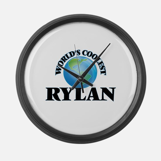 World's Coolest Rylan Large Wall Clock