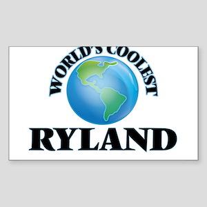World's Coolest Ryland Sticker