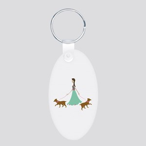 Walking Dogs Keychains