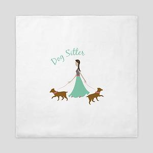 Dog Sitter Queen Duvet
