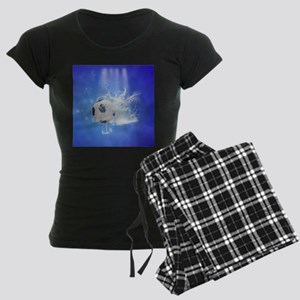 Soccer with water slpash Pajamas