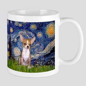 Starry Night & Chihuahua Mug