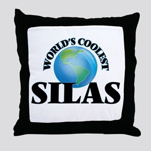 World's Coolest Silas Throw Pillow