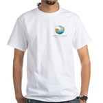Men's Logo White T-Shirt (front Only)