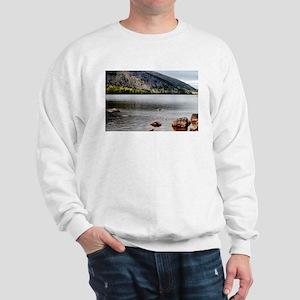 Jordan Pond, Bar Harbor, ME Sweatshirt