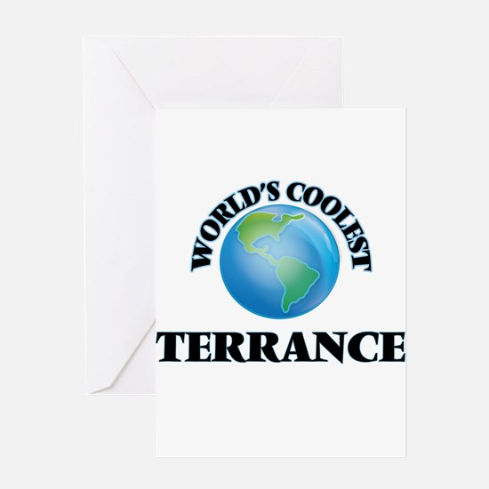 World's Coolest Terrance Greeting Cards