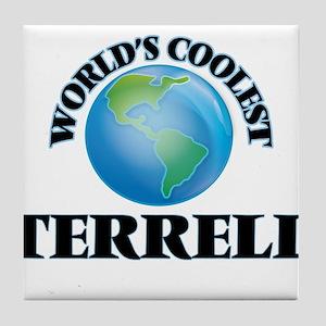World's Coolest Terrell Tile Coaster