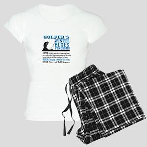 Golfer's Winter Blues Syndrome Pajamas