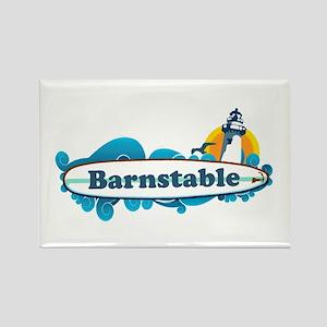 Barnstable - Surf Design. Rectangle Magnet
