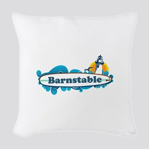 Barnstable - Surf Design. Woven Throw Pillow