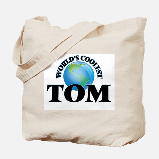 World's Coolest Tom Tote Bag