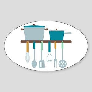 Kitchen Cooking Utensils Pots Sticker