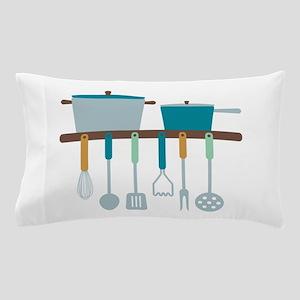 Kitchen Cooking Utensils Pots Pillow Case