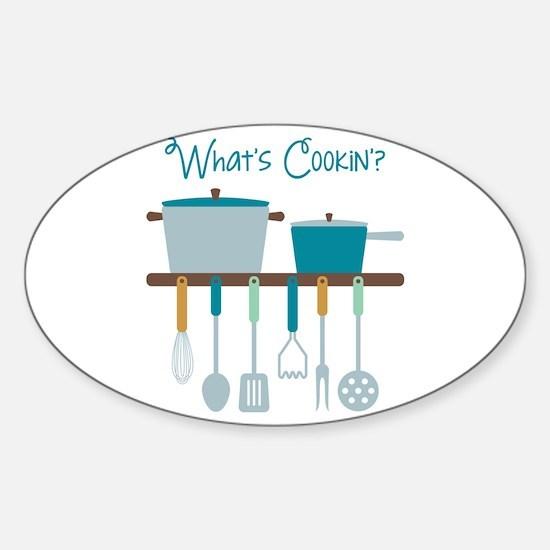 Kitchen Cooking Utensils Pots Decal